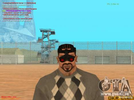 NV Goggles für GTA San Andreas