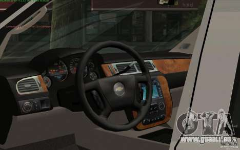 Chevrolet Avalanche Police pour GTA San Andreas vue de droite