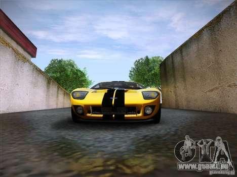 Ford GT für GTA San Andreas Innenansicht