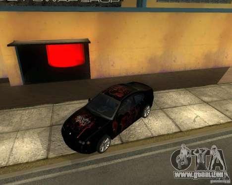 Vauxhall Monaro pour GTA San Andreas vue arrière