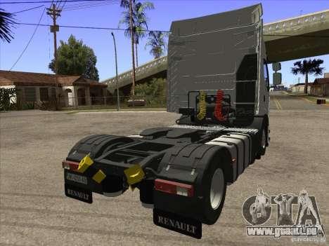 Renault Premium pour GTA San Andreas sur la vue arrière gauche