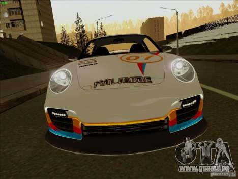 Porsche 997 GT2 Fullmode für GTA San Andreas Innenansicht
