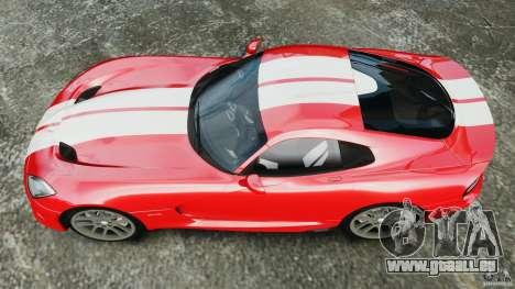 SRT Viper GTS 2013 pour GTA 4 est un droit