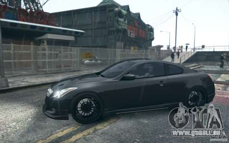 Infiniti G37 Coupe Carbon Edition v1.0 für GTA 4
