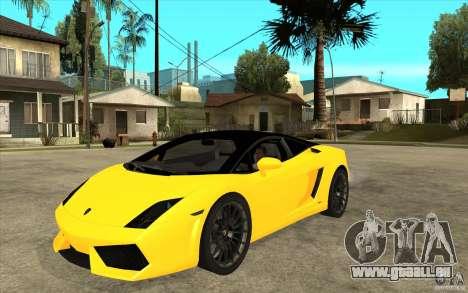 Lamborghini Gallardo LP560 Bicolore pour GTA San Andreas