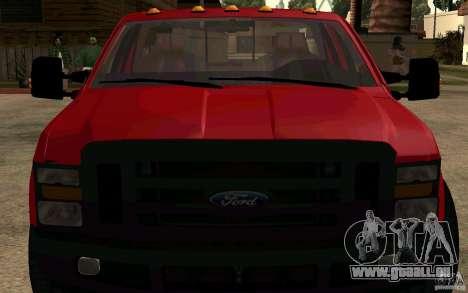 Ford F250 Super Dute für GTA San Andreas rechten Ansicht