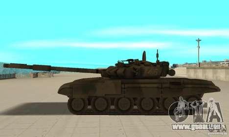 Char t-90 pour GTA San Andreas laissé vue