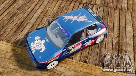 Peugeot 205 Maxi für GTA 4 rechte Ansicht