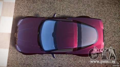 Chevrolet Corvette C6 Z06 pour GTA 4 est un droit