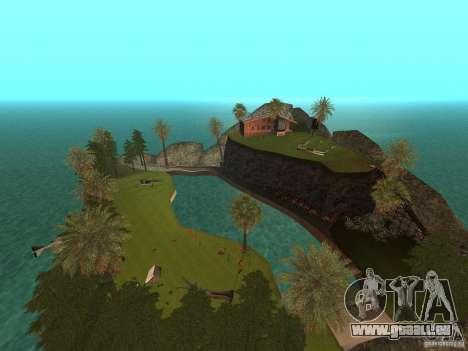 Kapu Pohaku Island v1.2 pour GTA San Andreas