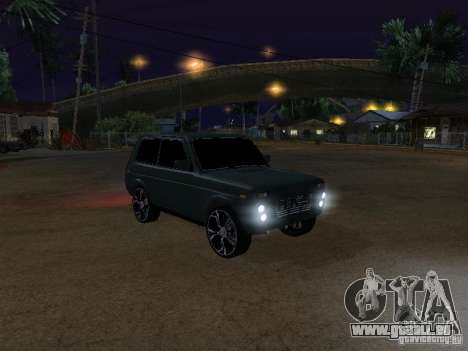 Lada Niva 21214 Tuning für GTA San Andreas