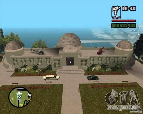 La maison sur la colline pour GTA San Andreas