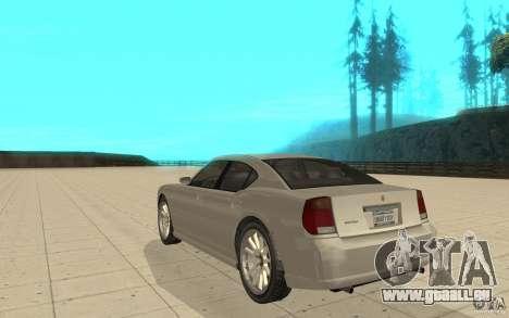 FIB Buffalo dans GTA 4 pour GTA San Andreas sur la vue arrière gauche