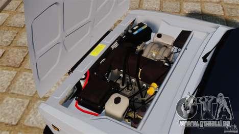 VAZ-2107 pour GTA 4 est une vue de l'intérieur