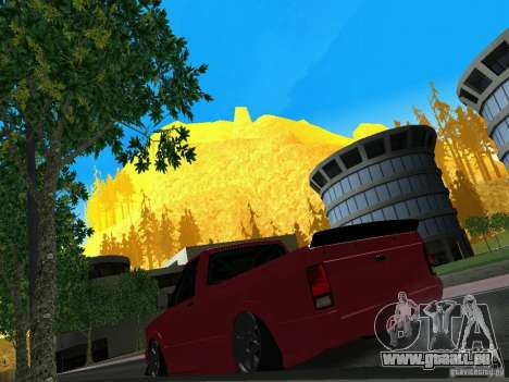 GMC Syclone Drift pour GTA San Andreas vue arrière