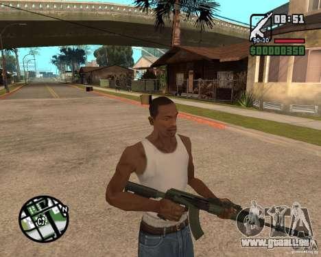 AK-47 from GTA 5 v.1 für GTA San Andreas