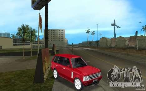 Range Rover Vogue 2003 pour GTA Vice City vue arrière