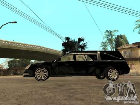 Cadillac DTS 2008 pour GTA San Andreas laissé vue