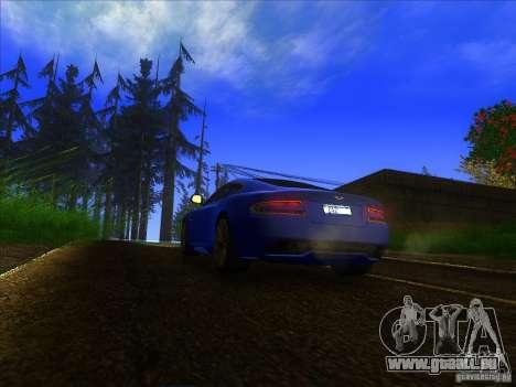 Aston Martin Virage 2011 Final für GTA San Andreas Rückansicht