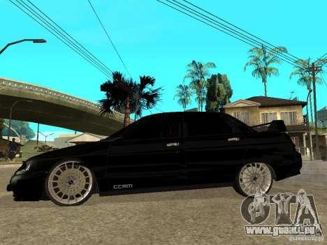 VAZ 2110 Penza Tuning pour GTA San Andreas laissé vue