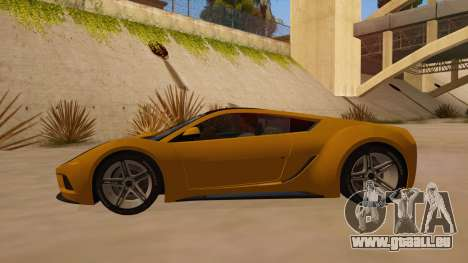 Saleen S5S Raptor 2010 pour GTA San Andreas laissé vue