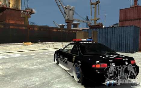 Nissan 200SX Police v0.2 pour GTA 4 Vue arrière de la gauche