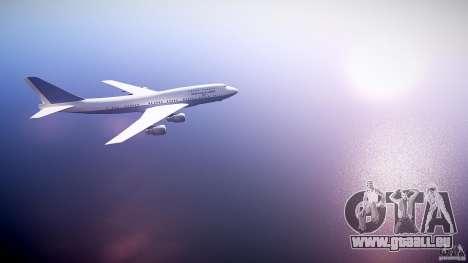 Air Force One v1.0 für GTA 4 Rückansicht