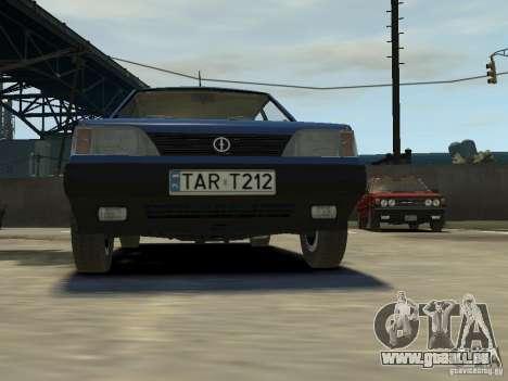 FSO Polonez Caro pour GTA 4 vue de dessus