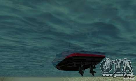 GTAIV TBOGT Smuggler für GTA San Andreas Rückansicht