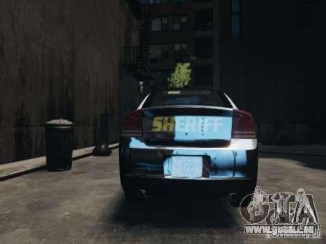 Dodge Charger Slicktop 2010 für GTA 4 rechte Ansicht
