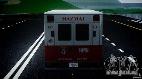 LCFD Hazmat Truck v1.3 für GTA 4 Innen