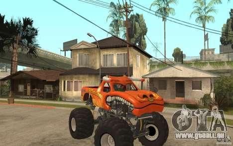 El Toro Loco pour GTA San Andreas vue arrière