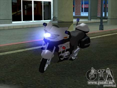 BMW R1150RT Cop copbike pour GTA San Andreas