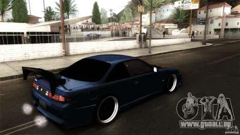 Nissan 200sx pour GTA San Andreas vue de droite