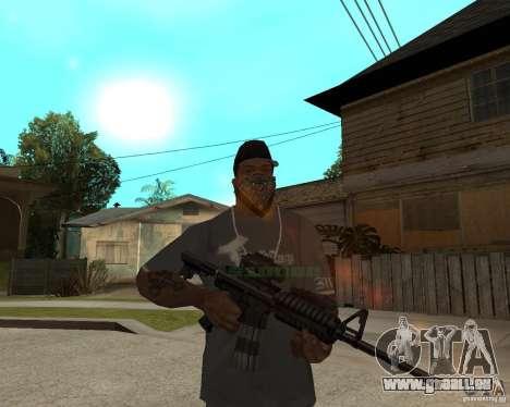 M16 de très haute qualité pour GTA San Andreas