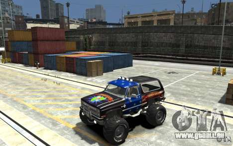 Chevrolet Blazer K5 1986 Monster Edition pour GTA 4