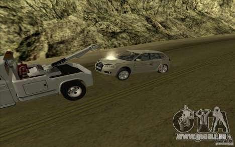 Chevrolet dépanneuse pour GTA San Andreas vue de côté