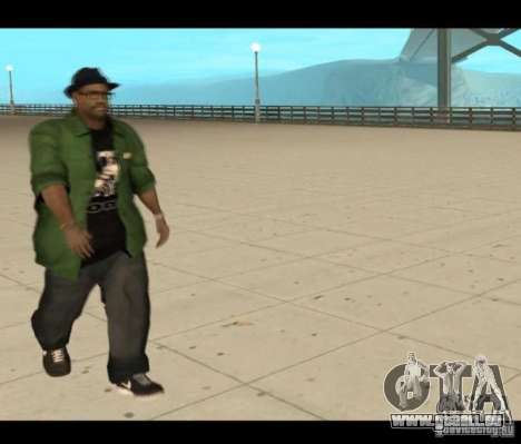 Family Skins Pack für GTA San Andreas fünften Screenshot