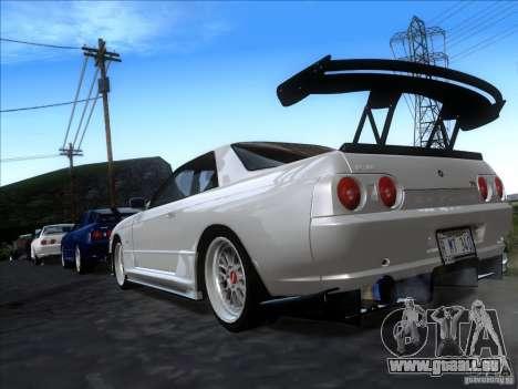 Nissan Skyline GT-R R32 1993 Tunable pour GTA San Andreas laissé vue