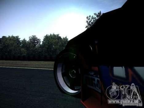 Nissan 370Z Chris Forsberg pour GTA San Andreas vue intérieure