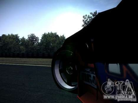 Nissan 370Z Chris Forsberg für GTA San Andreas Innenansicht