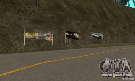 Welcome to AKINA Beta3 pour GTA San Andreas troisième écran