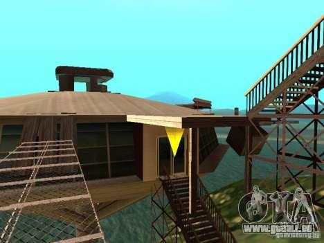 Insel (Monat auf dem Wasser) für GTA San Andreas zweiten Screenshot