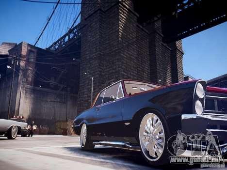 Pontiac GTO 1965 Custom discks pack 1 pour GTA 4 Vue arrière de la gauche