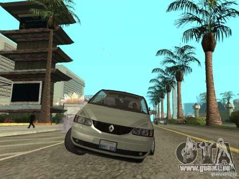 Renault Avantime pour GTA San Andreas vue de droite