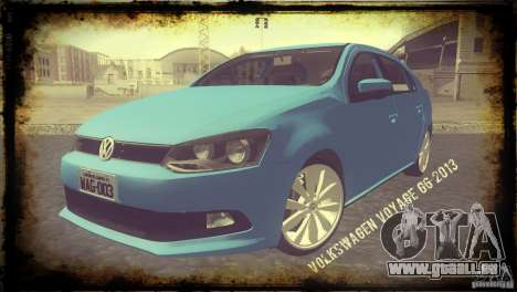 Volkswagen Voyage G6 2013 für GTA San Andreas