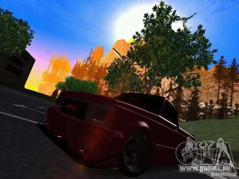 GMC Syclone Drift pour GTA San Andreas laissé vue