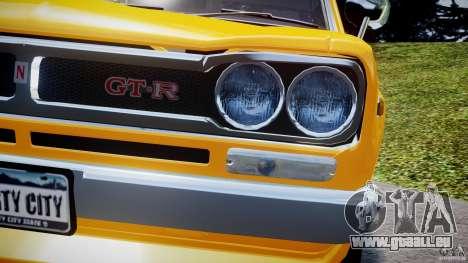 Nissan Skyline 2000 GT-R für GTA 4-Motor