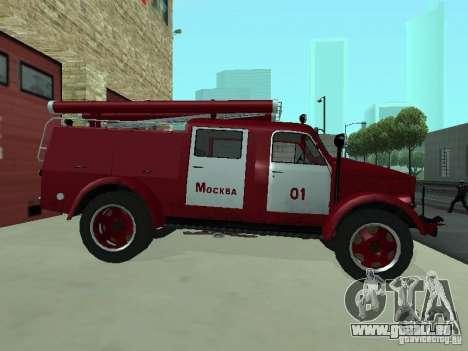 GAZ 51 20 ADC pour GTA San Andreas sur la vue arrière gauche