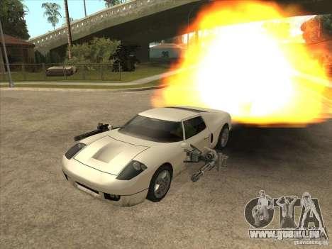 Le script CLEO : Super Car pour GTA San Andreas troisième écran